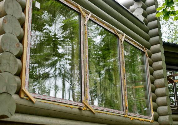 установка пластиковых окон в частном доме вид 2