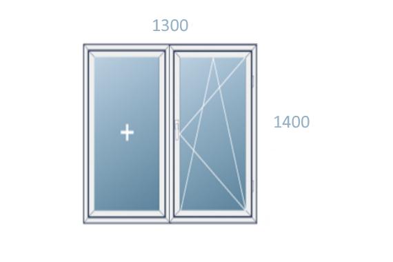 схема окна 1300x1400
