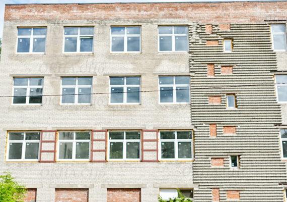остекление целого здания в кировске