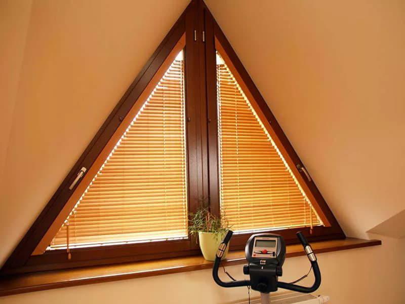 нестандартные треугольные окна