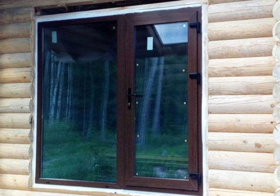 пластиковые окна в дачном доме