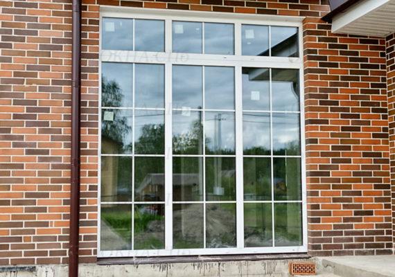 установка пластиковых окон в коттедже 4