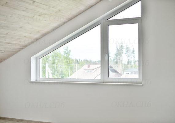 окна пвх в загородном доме