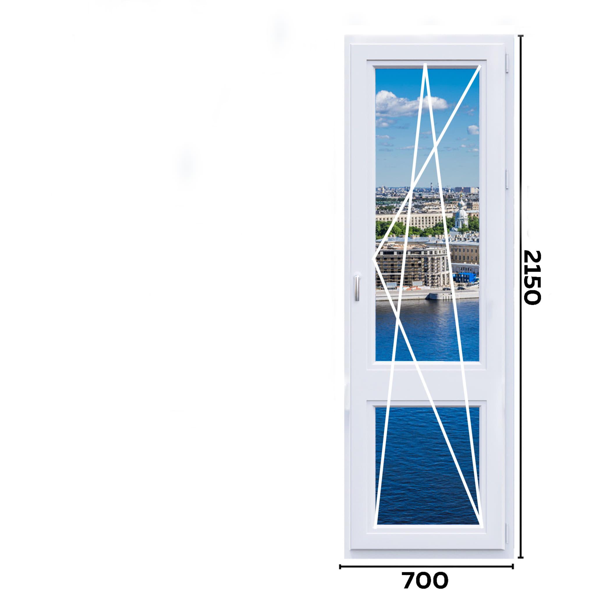 схема окон 700мм вариант 1