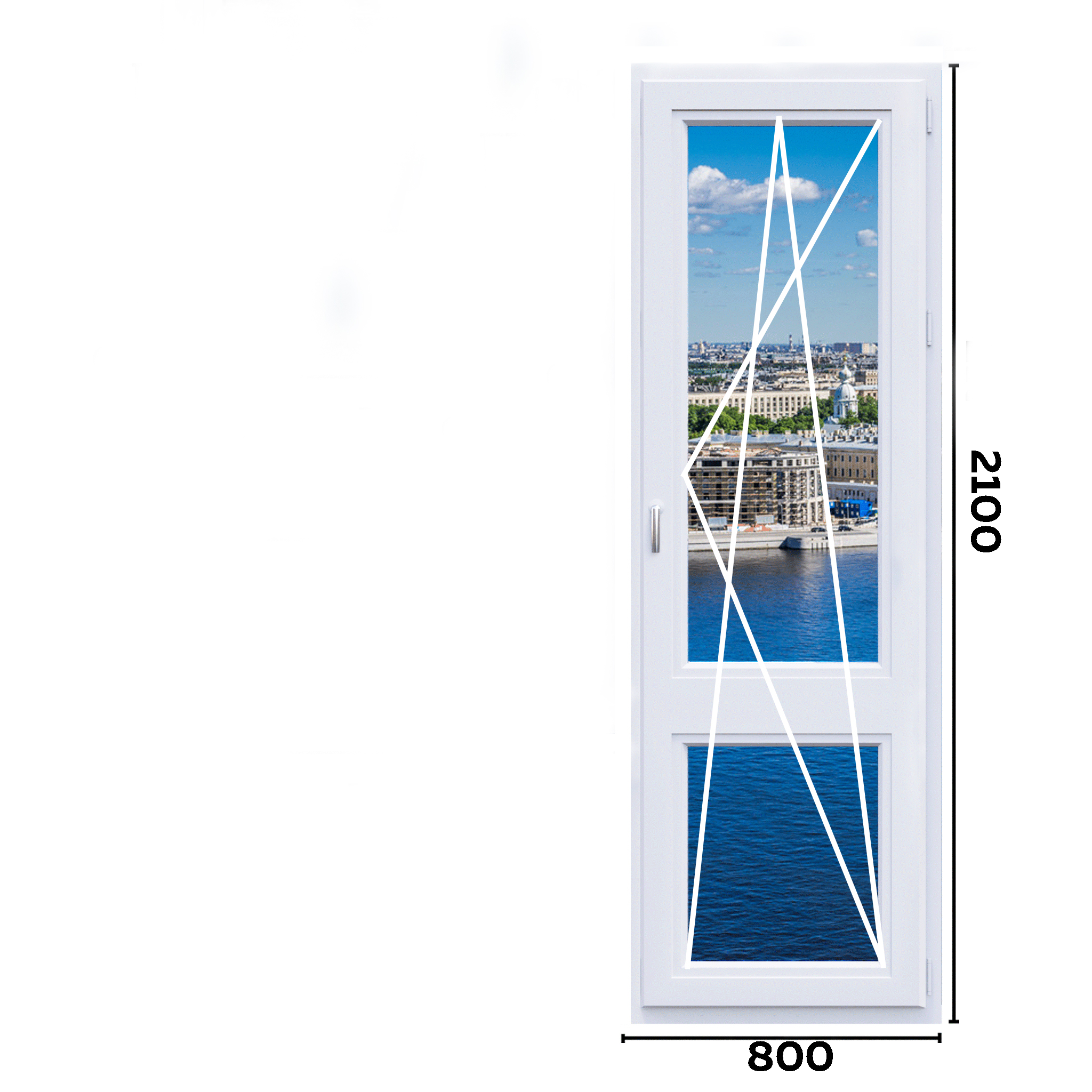 схема окон 800мм вариант 1