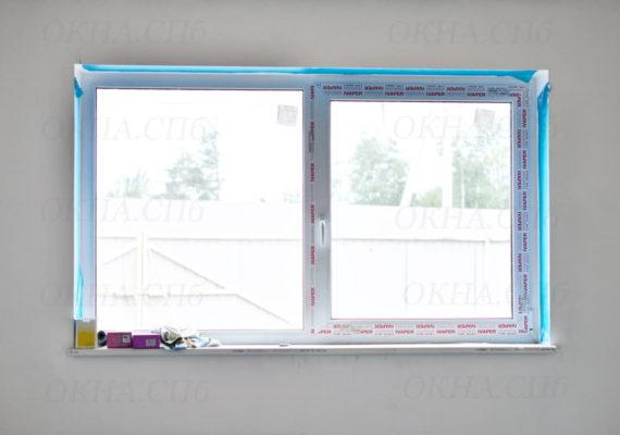пластиковые окна в загородном доме вид изнутри 2