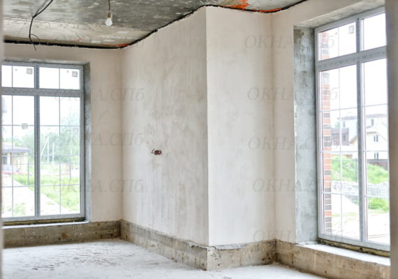 остекление частного дома вид изнутри 8