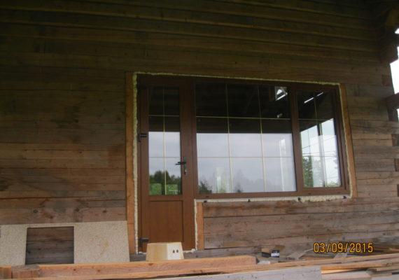 пластиковые окна на даче