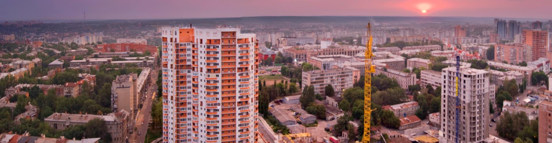 новостройки панорама фото