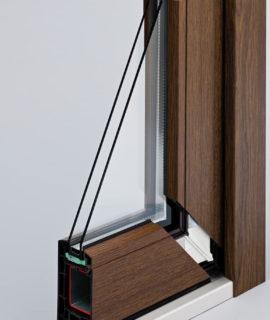 пластиковые двери в разрезе 2