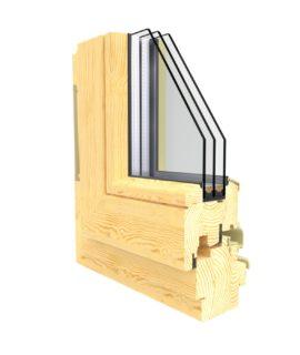 окна из сосны фото