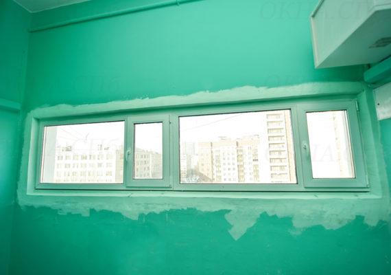 пластиковые окна в подъезде 3