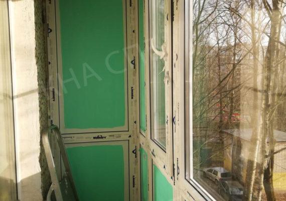 остекление балкона на проспекте славы
