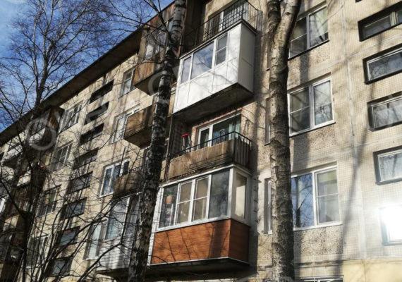 остекление балкона на проспекте славы 2