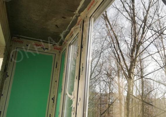 остекление балкона на проспекте славы 3
