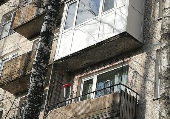 остекление балкона на проспекте славы 4