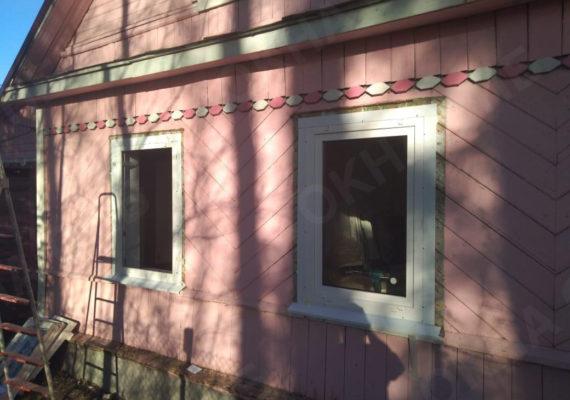 замена окон на пластиковыев частном доме в ленинградской области14