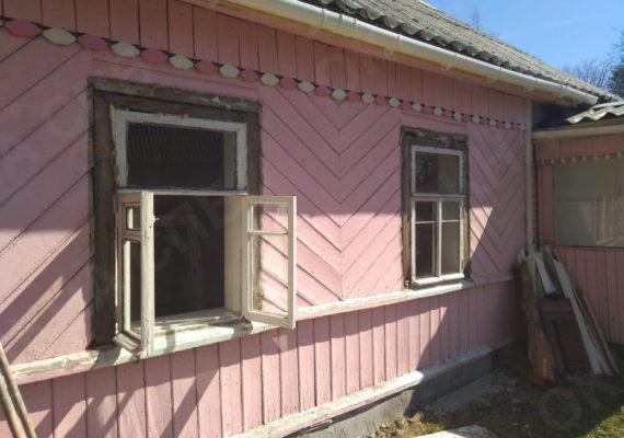 замена окон на пластиковыев частном доме в ленинградской области5