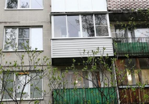 монтаж окна и остекление балкона на проспекте культуры 21 3