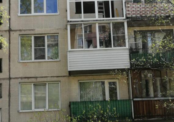 остекление балкона на проспекте культуры 21 2