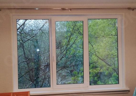 монтад окна на проспекте культуры 21