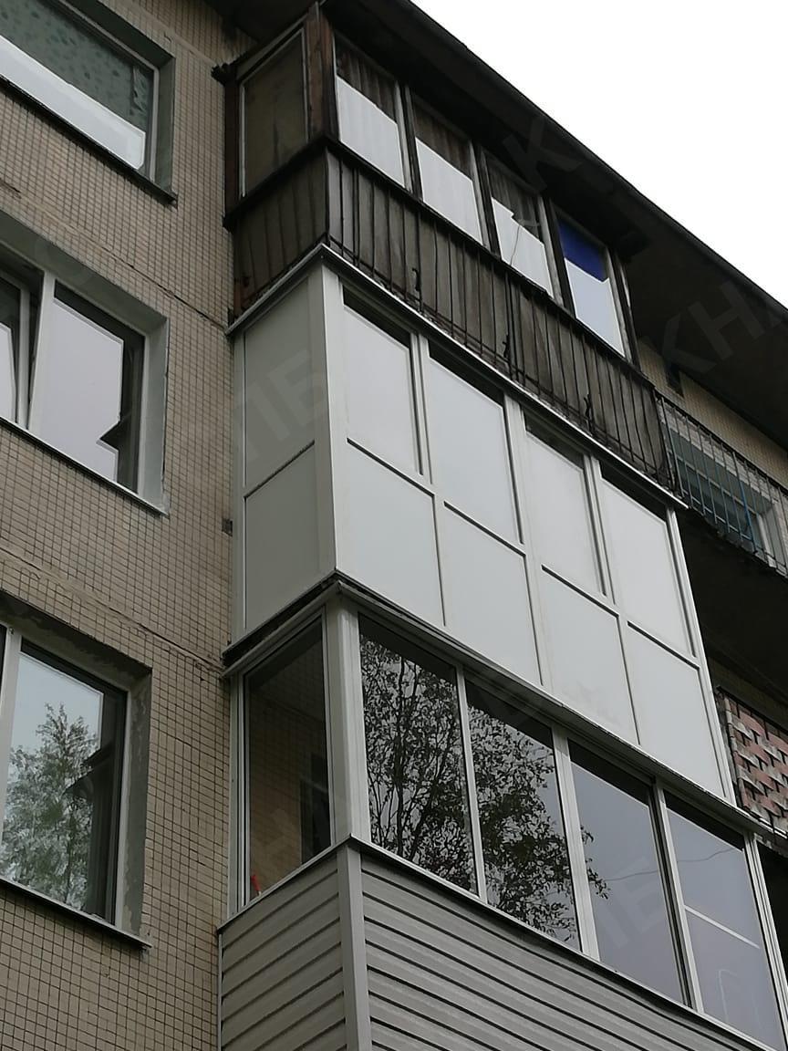 остекление балкона на проспекте культуры 21