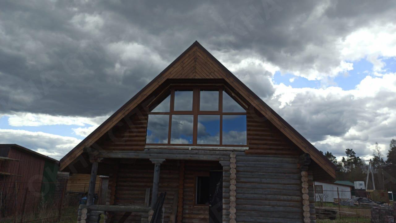 монтаж окон в частном доме в приозерском районе