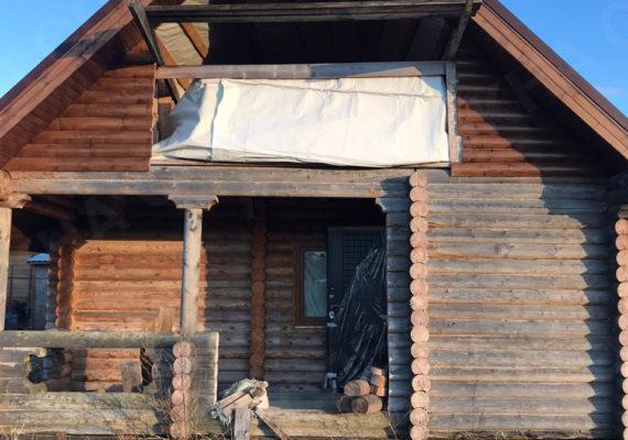 монтаж окон в частном доме в приозерском районе 1