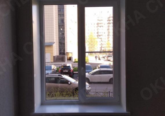 монтаж окна на ворошилова 31 3