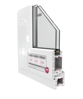 Дверная система Рехау 60 мм